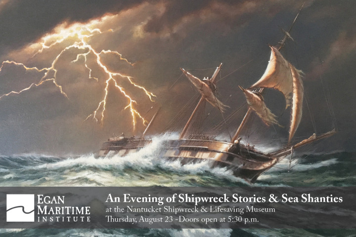 2018 August Shipwreck Stories Postcard Invite Front
