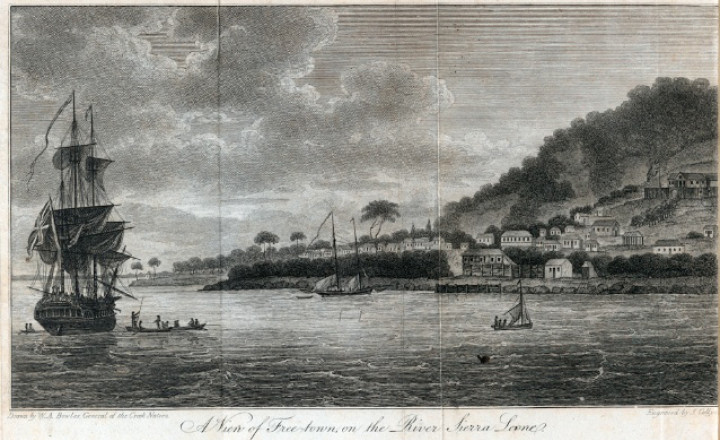 A View Of Freetown 1803 Wikipedia