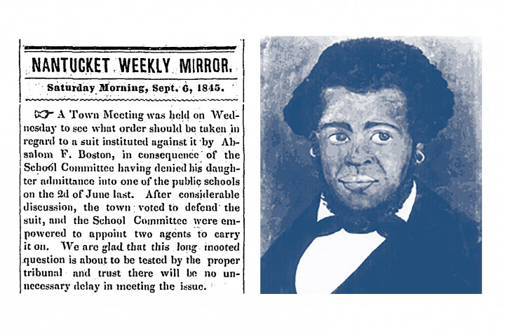 Nantucket Weekly Mirror 1845 Cover Image Crop