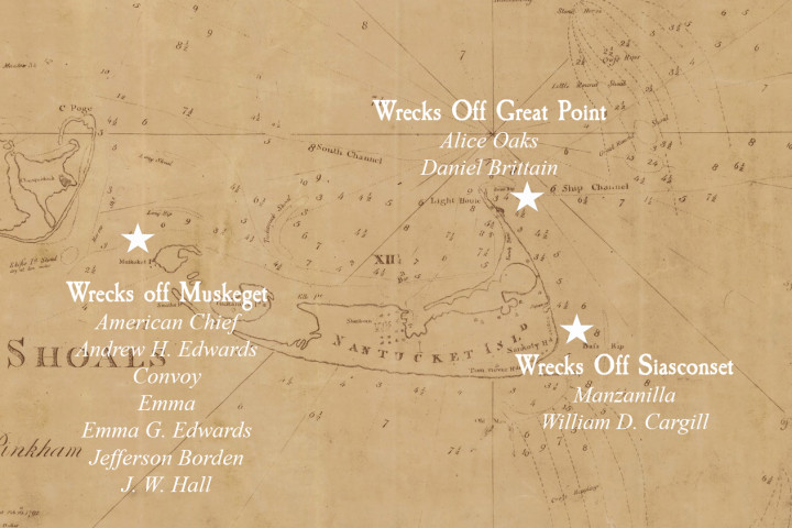 Shipwreck Map Pinkham
